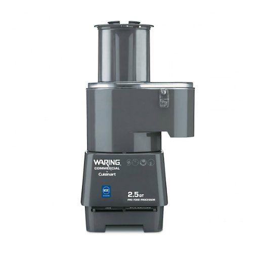 Waring Commercial FP25C Combination Batch Bowl/Continuous Food Processor 2-1/2-Quart https://juicerblenderreviews.info/waring-commercial-fp25c-combination-batch-bowlcontinuous-food-processor-2-12-quart/
