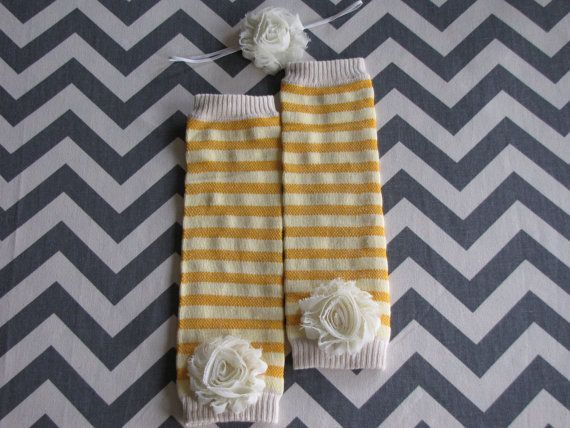 Sale Mustard Yellow Striped Leg Warmers with a by Appleberryblue, $7.50  https://www.etsy.com/listing/113664224/sale-mustard-yellow-striped-leg-warmers?ref=exp_listing