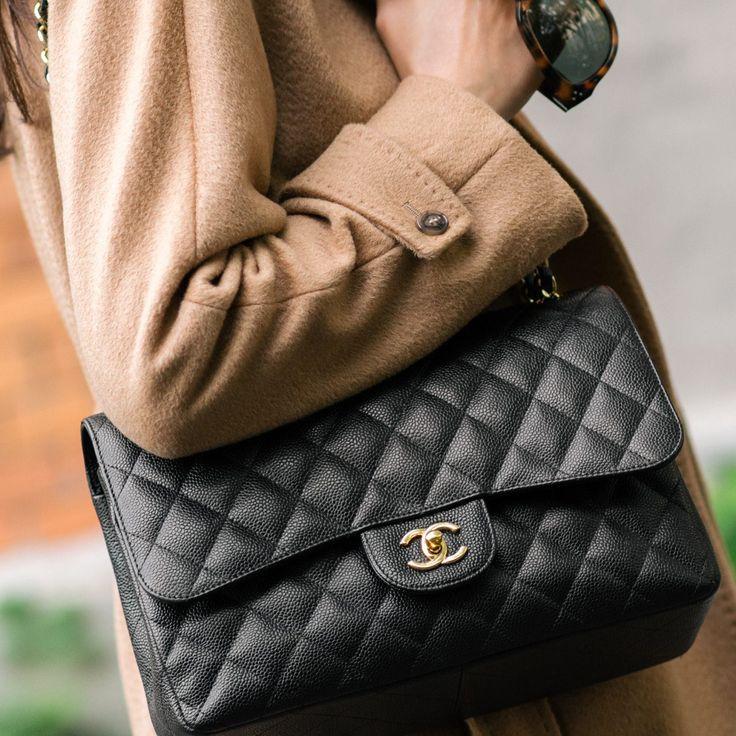 """MantelMax Mara(auchhier) - HutMaison Michel Modell """"Henrietta"""" (auchhier) - Seidenhemd Frame Denim- Jeans Citizens of Humanity- Schuhe Chanel (ähnliches Modell hier) -Tasche Hermès Kelly Ba..."""