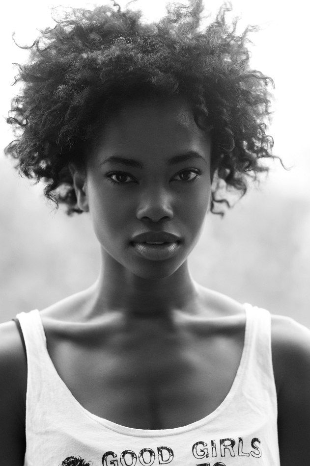 Natural Hair Styles and Fashion: Photo