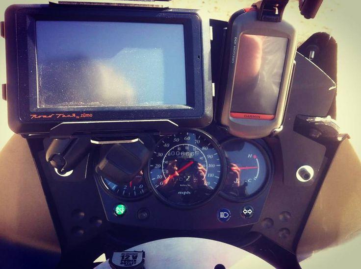 http://ift.tt/1hqLVsh #thatchillaxdude  My 2011 Kawasaki KLR650 dual sport! #motorrad #motorradfahren #thumper #klr650 #kawasaki #dualsport #garmin #zumo #oregon450