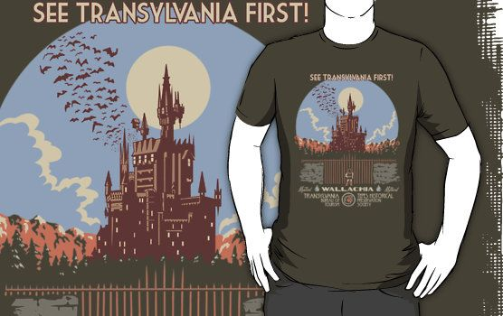 See Transylvania First Castlevania T-Shirt Click Here To Buy