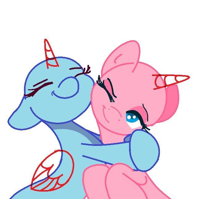 картинки пони манекены две пони нее большие возможности