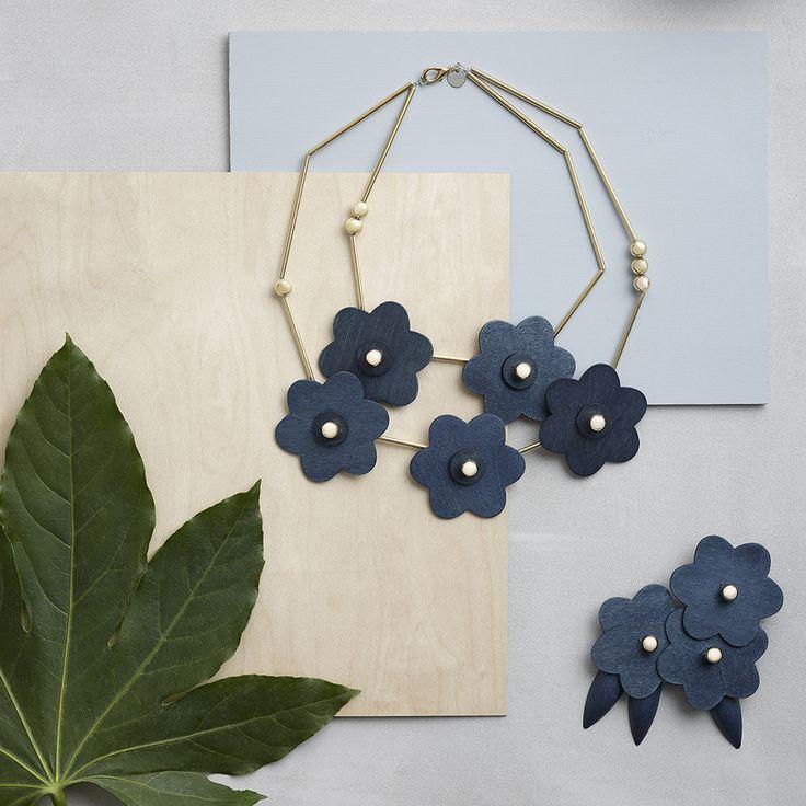 Aarikka - Ateljee : Kolibri necklace