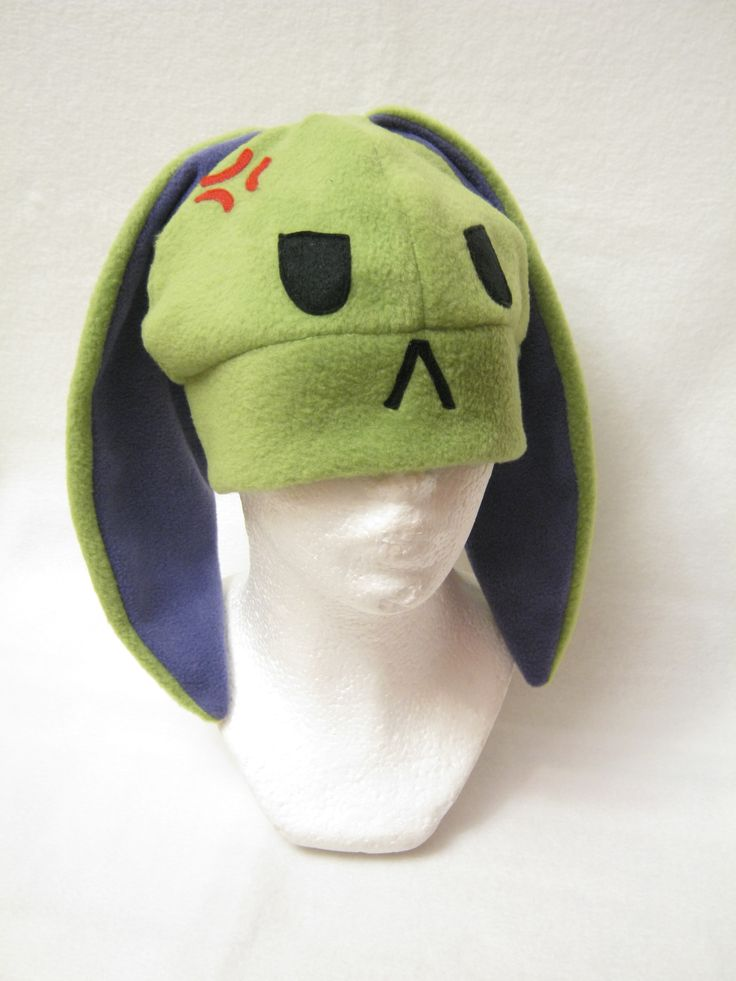 Hulk Bunny Hat Avengers Made by Plush Workshop