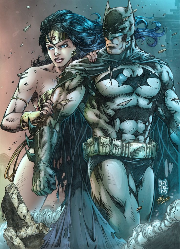 Batman & Wonder Woman  ®