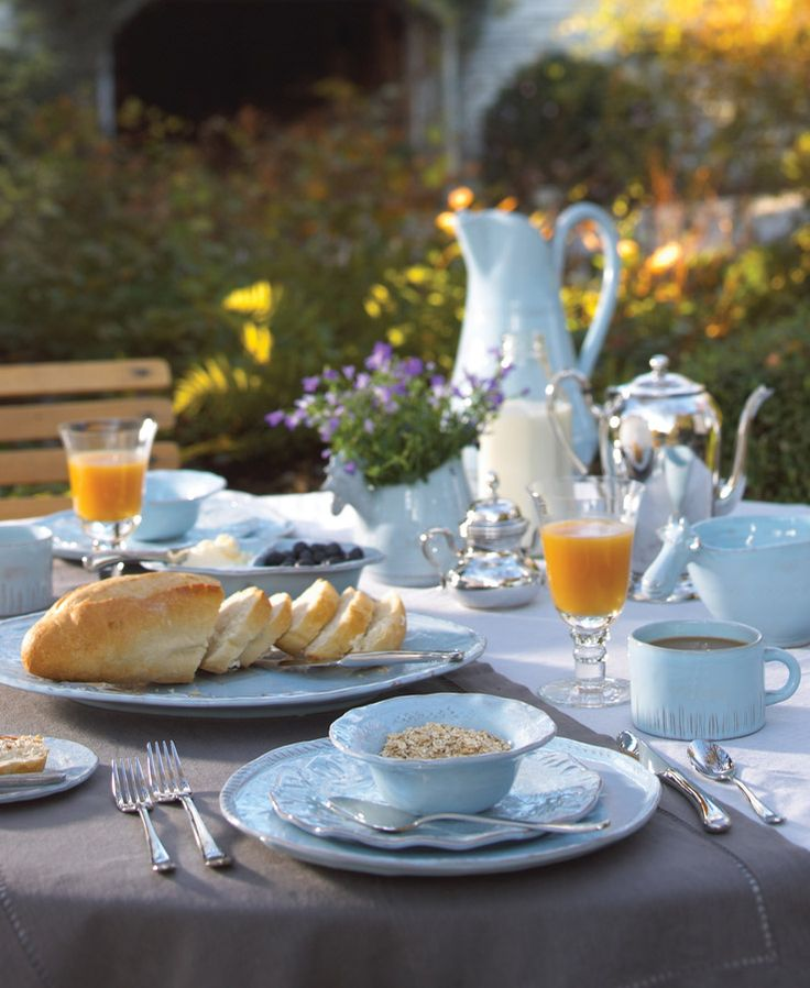 Healthy Breakfast on Vietri Bellezza Sky Blue & 203 best Beautiful morning images on Pinterest | Beautiful morning ...