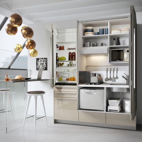 Einbauküchen küchensysteme minisystem snaidero cixhome check it out on architonic kleine küchenmoderne