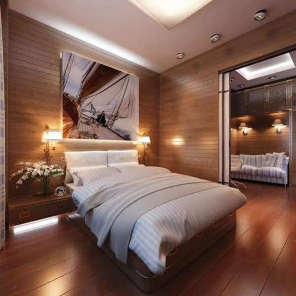 13 Creative Wooden Bedroom Interior Design Ideas Slaapkamer