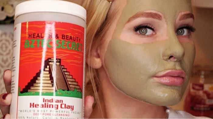 Aztec clay mask is a beauty product that has been gaining