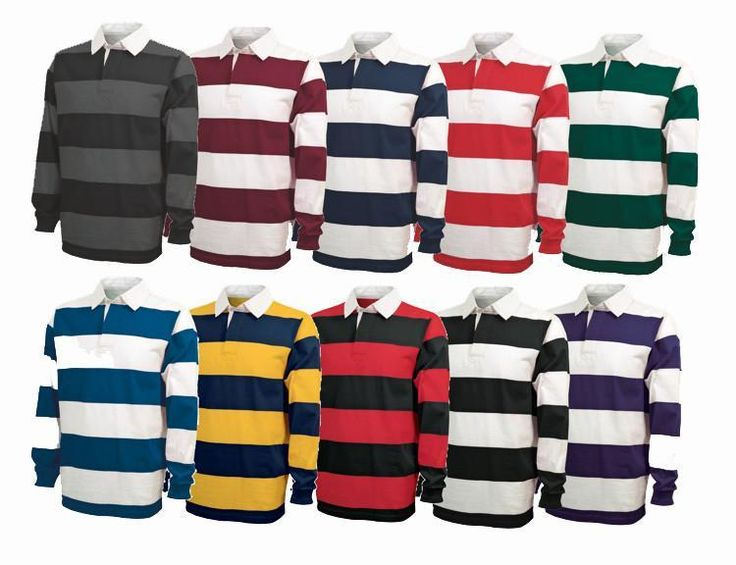 Classic Cotton Rugby Jersey