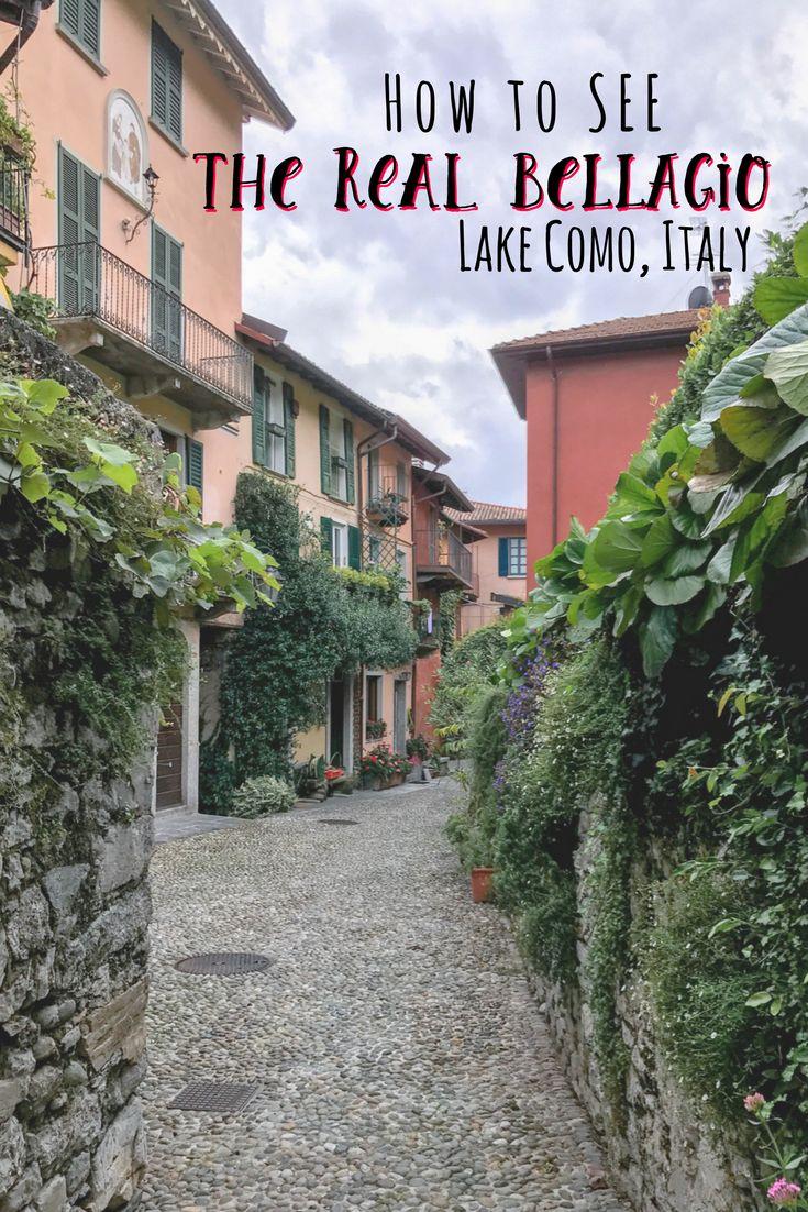 A three day Bellagio, Lake Como itinerary discovering Lake Como, via the lake, with Bellagio Water Sports.   Lake Como Itinerary   What to Do on Lake Como   What to do in Bellagio   Lake Como   #lakecomo #italytravel #bellagio