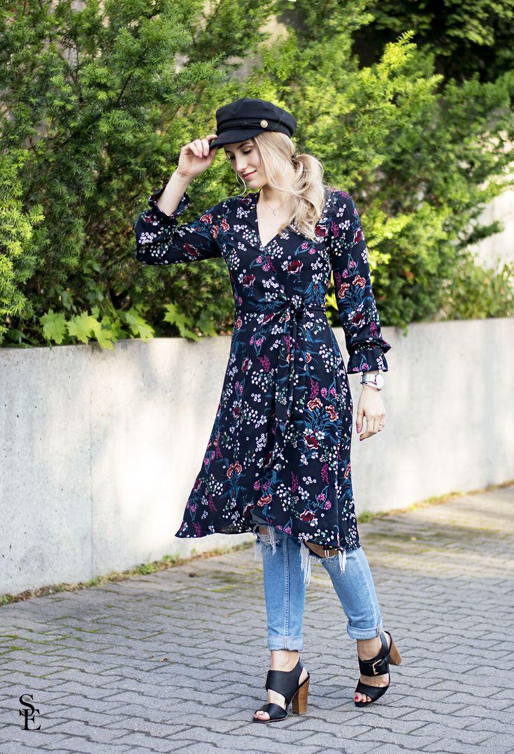 sandraemilia, outfit, ootd, fall, flower, dress, trend, 2017, höst 4