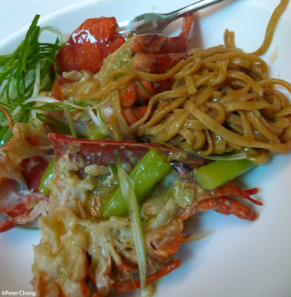 Chinese lobster noodles. | World of Savory Foods | Pinterest