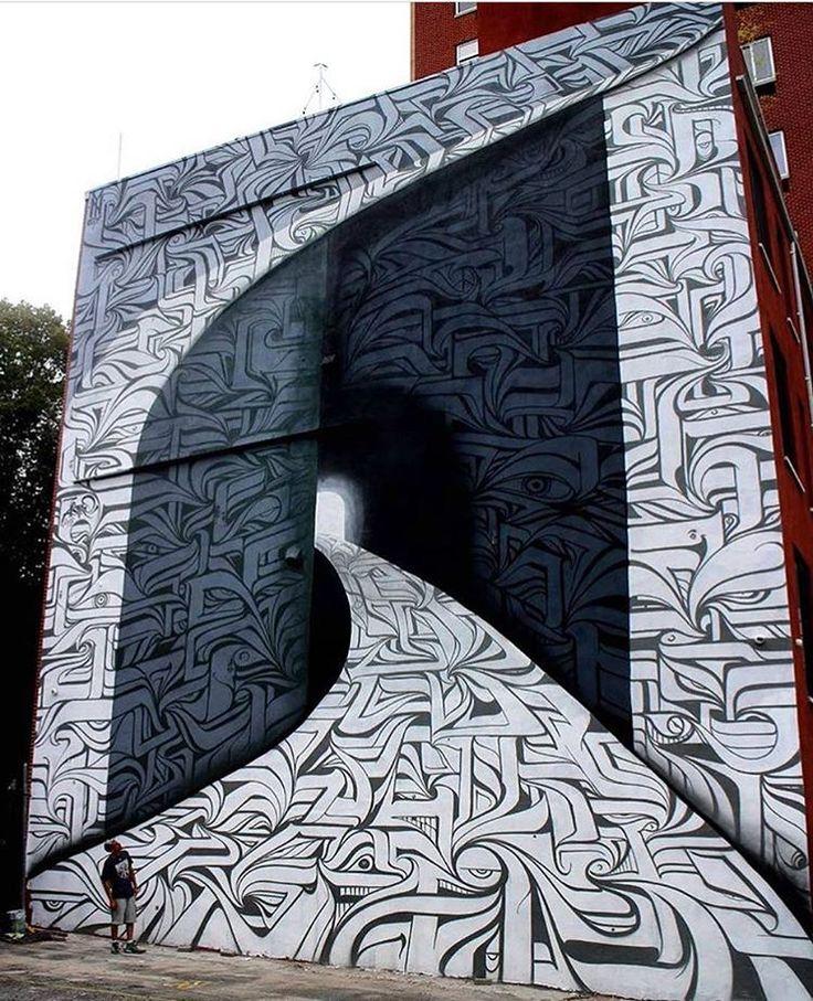 Street art by Astro in New York