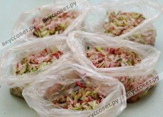 Для данной заготовки можно использовать полиэтиленовые пакеты, пластиковые контейнеры (кому как удобно)