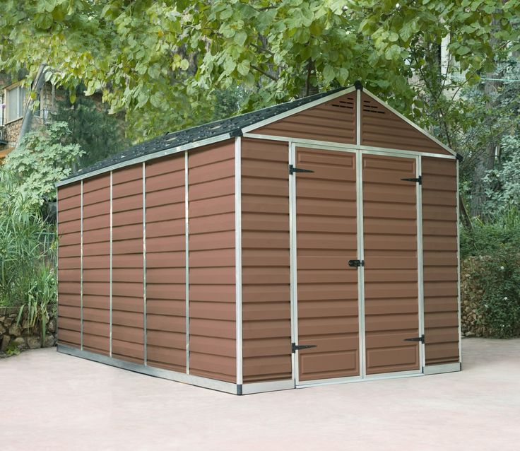 palram skylight amber polycarbonate shed 8x12 - Garden Sheds 3ft Wide