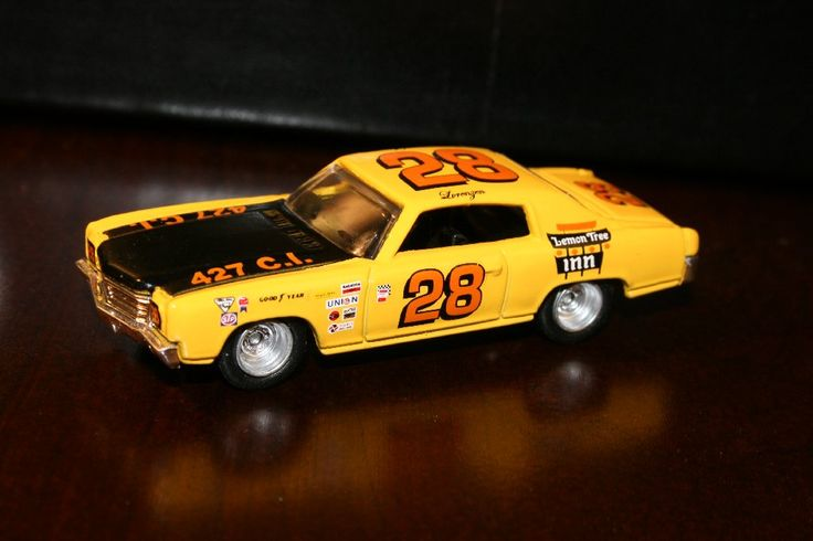 Fred Lorenzen 1972 Lemon Tree Inn Chevrolet Monte Carlo
