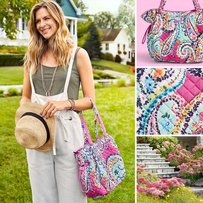 Step into spring with a pretty new pattern. Wildflower Paisley's fresh spring shades will get you in that spring mindset in no time!