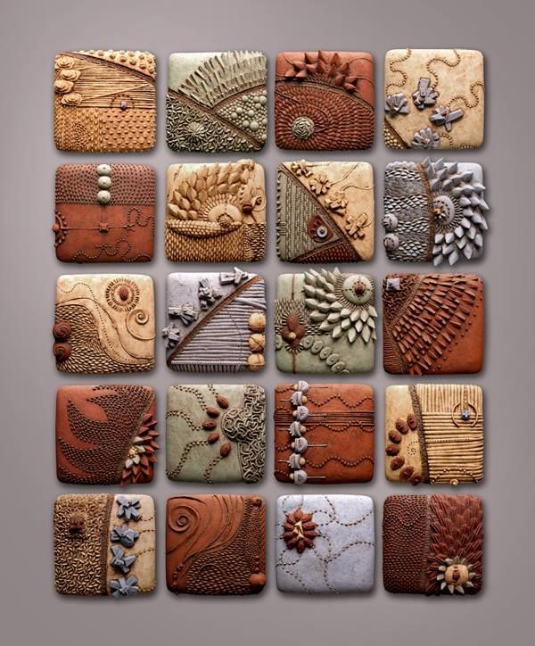 Ceramic Tiles by Chris Gryder http://chrisgryder.com/ be prepared to be inspired. This image was taken from a facebook post on https://www.facebook.com/www.didatticarte.it