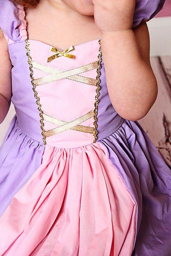 Robe de Princesse Raiponce costume robe par loverdoversclothing