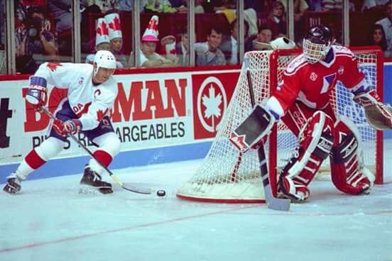 Gretzky vs Hasek, Canada Cup, 1991