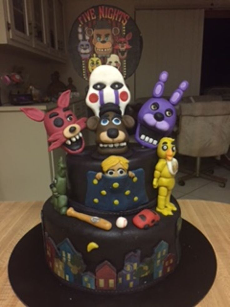 Five nights at freddys on cake central fnaf cakes