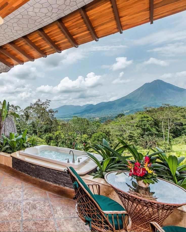 The lap of luxury and a volcano too. Thats how one traveler describes The Springs Resort and Spa tucked away in the lush Arenal Volcano National Park. Book it with TripAdvisor if your #CostaRica #hotelgoals include getting back to nature in style!