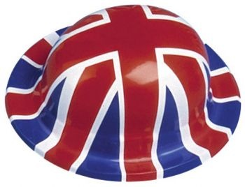 140UJ - Union Jack Bowler Hat great for all things British including events such as Jubilee's, Olympics, Football Matches and More!