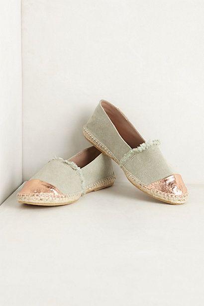 gold toe espadrilles