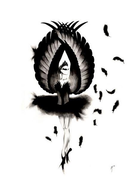 Black Swan, tattoo, ballet, inspiration