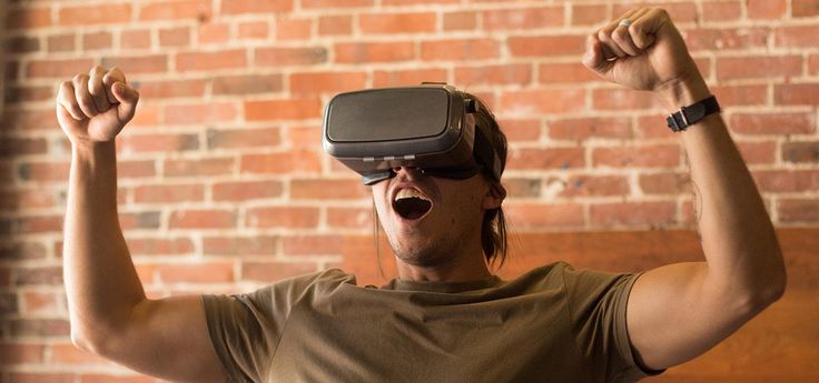 Get started in virtual reality by using your smartphone and a VR KiX Virtual Reality Headset.  It's so exciting!