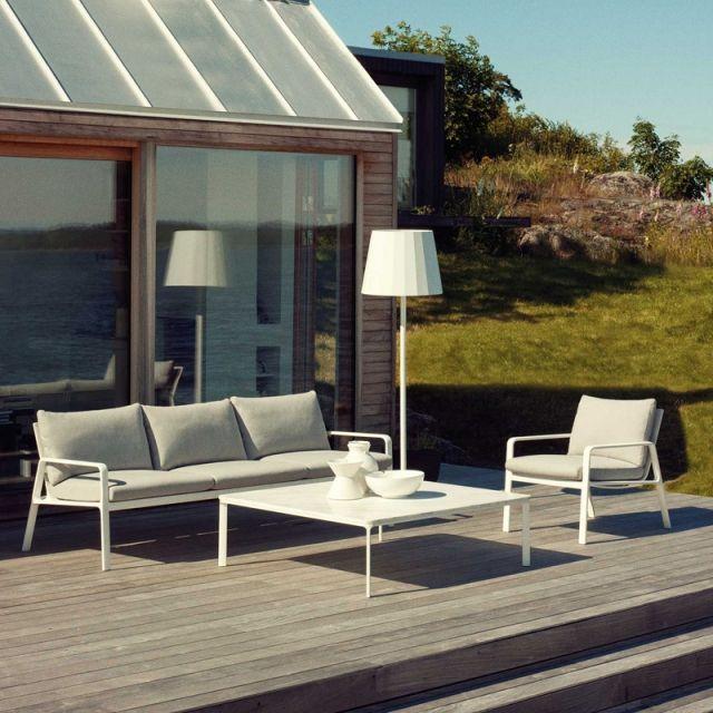 Canapé Kettal Park Life Design Jasper Morrison Aluminium Et Porotex Est Modern Outdoor Furnituremodern