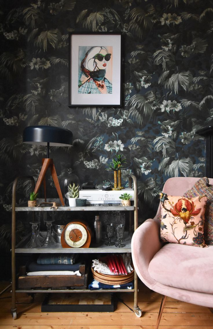 Dark and Moody Kitchen update with House of Hackney  House of