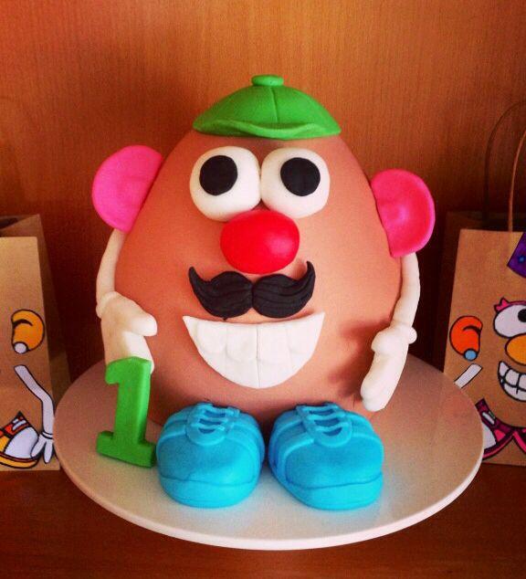Mr. Potato head cake - cake #5