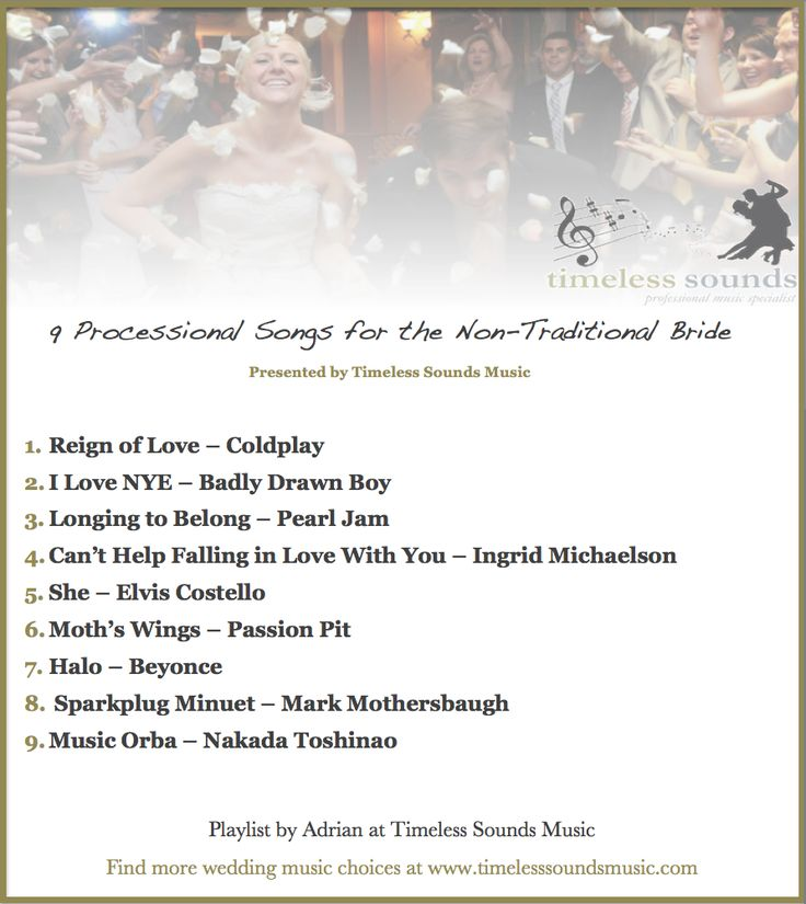 The 25+ best Wedding march music ideas on Pinterest | Bridal march ...