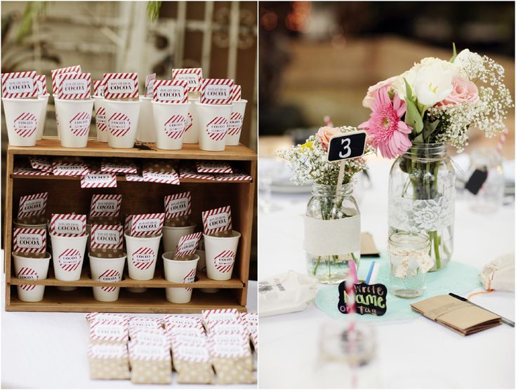 Rustic Vintage Centerpieces Inspired Southern Wedding Chic