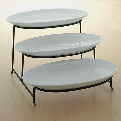 63 best images about serving plates on pinterest pedestal stand for and buffet server. Black Bedroom Furniture Sets. Home Design Ideas