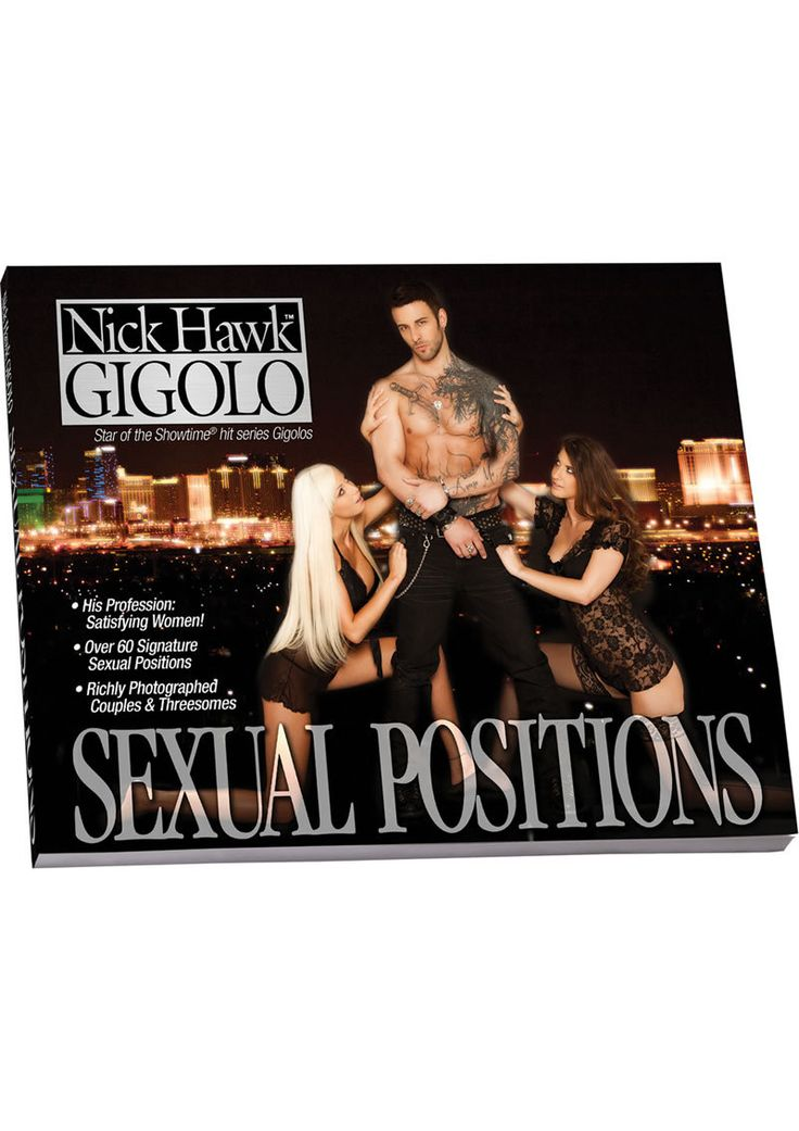 Nick Hawk Gigolo Sex Positions Book 76 Pages