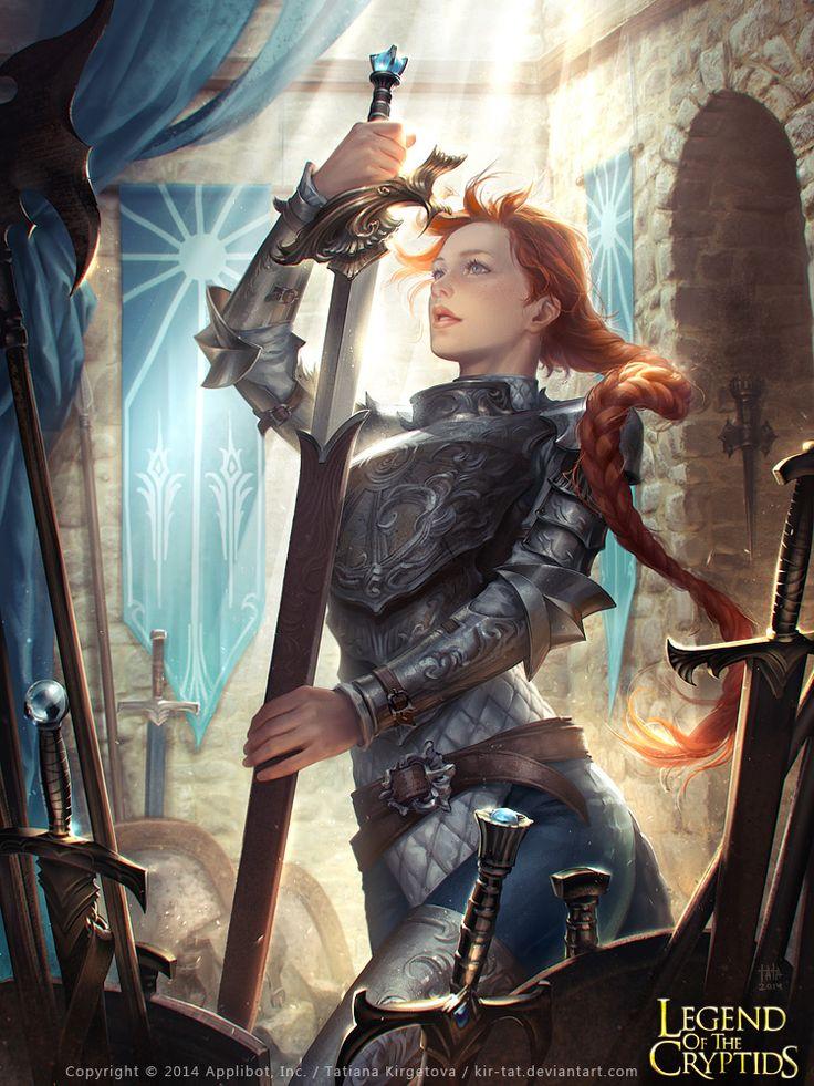 Hazel y su obsesión por las espadas