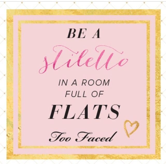 291 best quotes images on pinterest soccer quotes for Too faced ceo