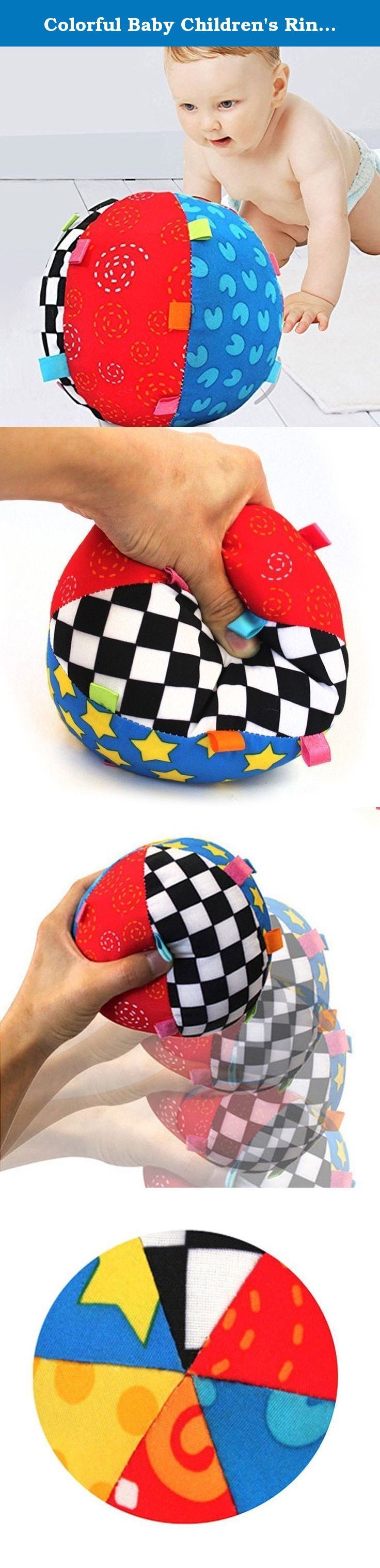 Colorful Baby Children's Ring Bell Ball Baby Toy Ball Educational Cotton Baby Hand Grasp Ball Cloth Music Sense Learning. Children's Ring Bell Ball Baby Toy Type: Hand Grasp Ball. Children's Ring Bell Ball Baby Toy Material: Cloth. Children's Ring Bell Ball Baby Toy Diameter: 15cm. Children's Ring Bell Ball Baby Toy Color: Multicolor. Children's Ring Bell Ball Baby Toy Age Range: > 3 years old,< 3 years old / Features: Musical,Soft.