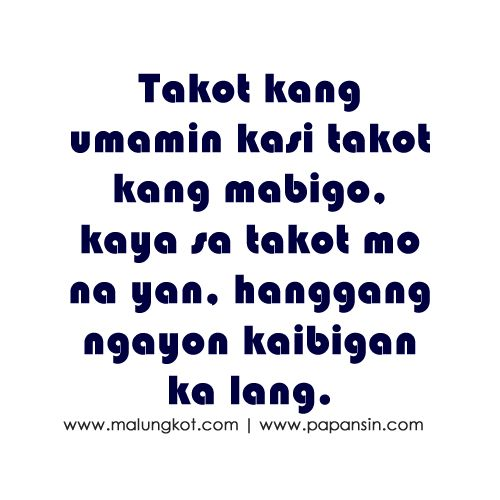 Val Ramos Val60 On Pinterest Simple Tagalog Quotes About Love And Friendship