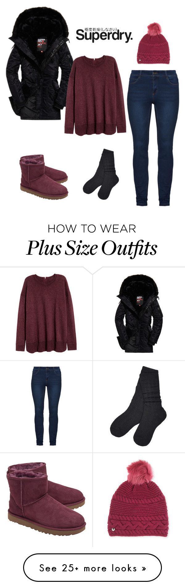 """The Cover Up – Jackets by Superdry: Contest Entry"" by karlamichell on Polyvore featuring UGG and Superdry"