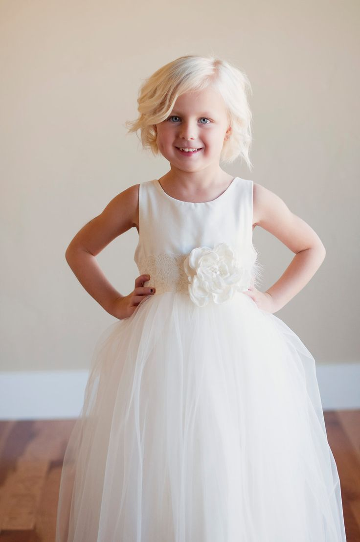 50 best flower girl ideas images on pinterest flower girls ivory flower girl dresslk flower girl dress with 6 layer lined ombrellifo Choice Image