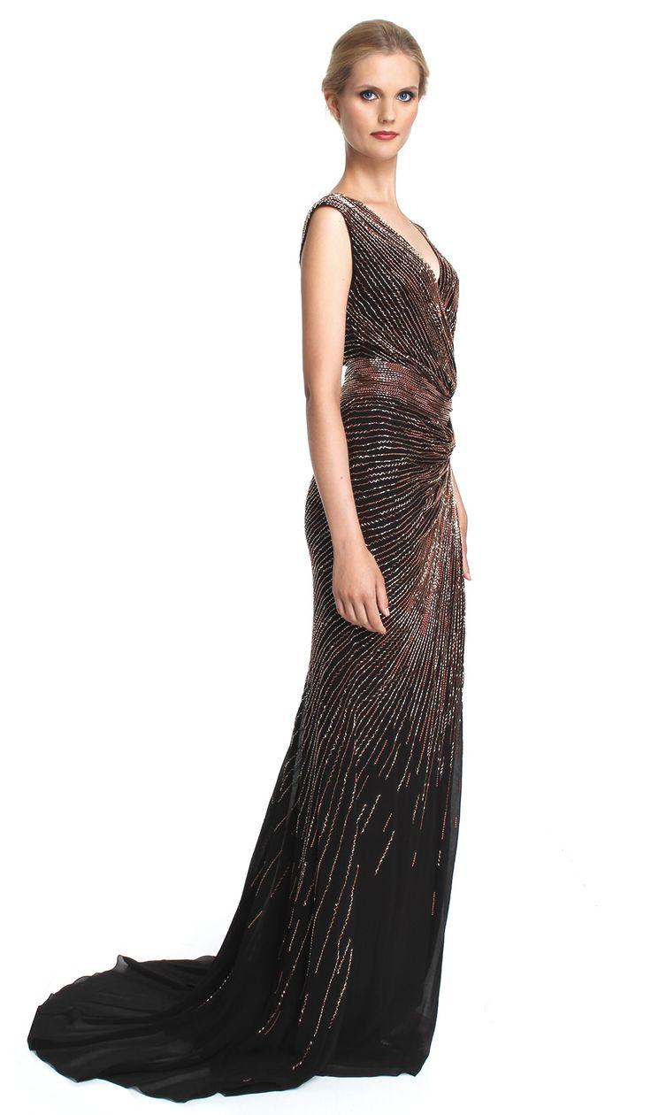 11 best Black Tie images on Pinterest | Black tie, Designer dresses ...