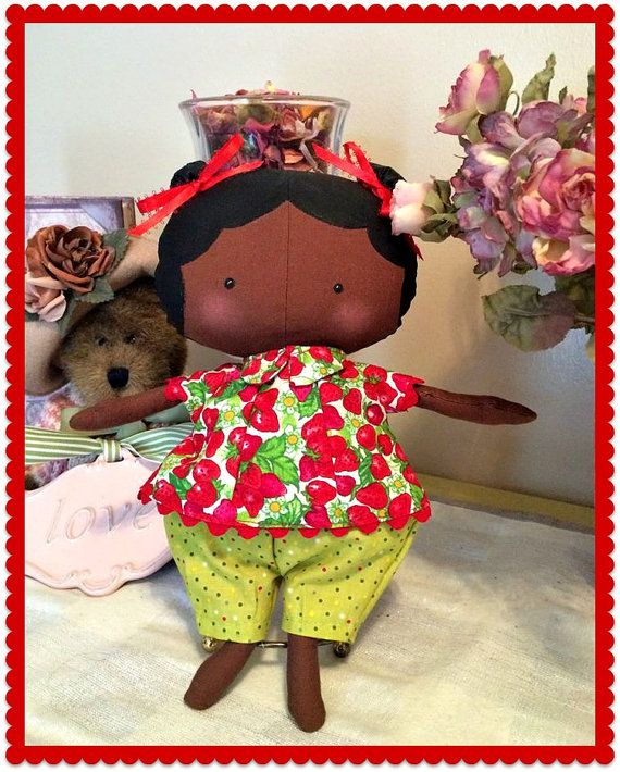 Handmade Sweetheart Tilda doll by MimiskidsTreasures on Etsy