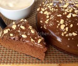 torta alla nutella alta e morbida