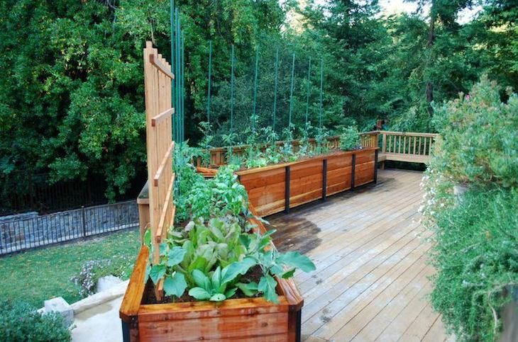 Jardiniere Bois Haute : le th?me Jardiniere Haute sur Pinterest Pots De Fleurs, Jardiniere