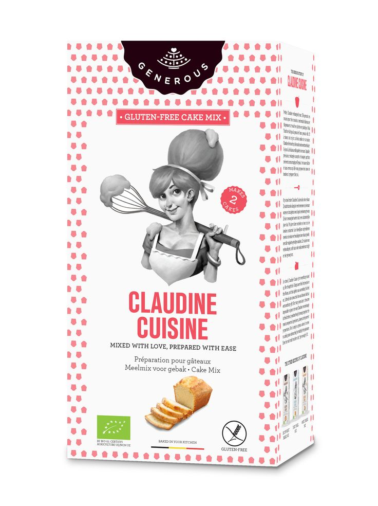 Claudine Cuisine - MIXED WITH LOVE, PREPARED WITH EASE  - Cake mix